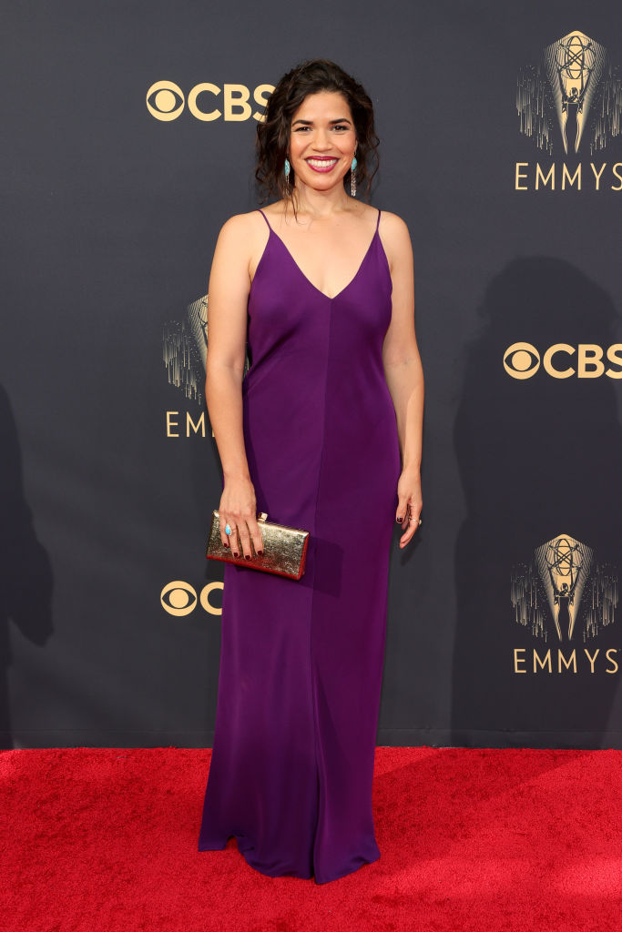 All the Lewks & Hot Mess from the 2021 Emmy Red Carpet: America Ferrera