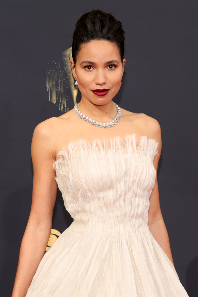 All the Lewks & Hot Mess from the 2021 Emmy Red Carpet: June Smollett