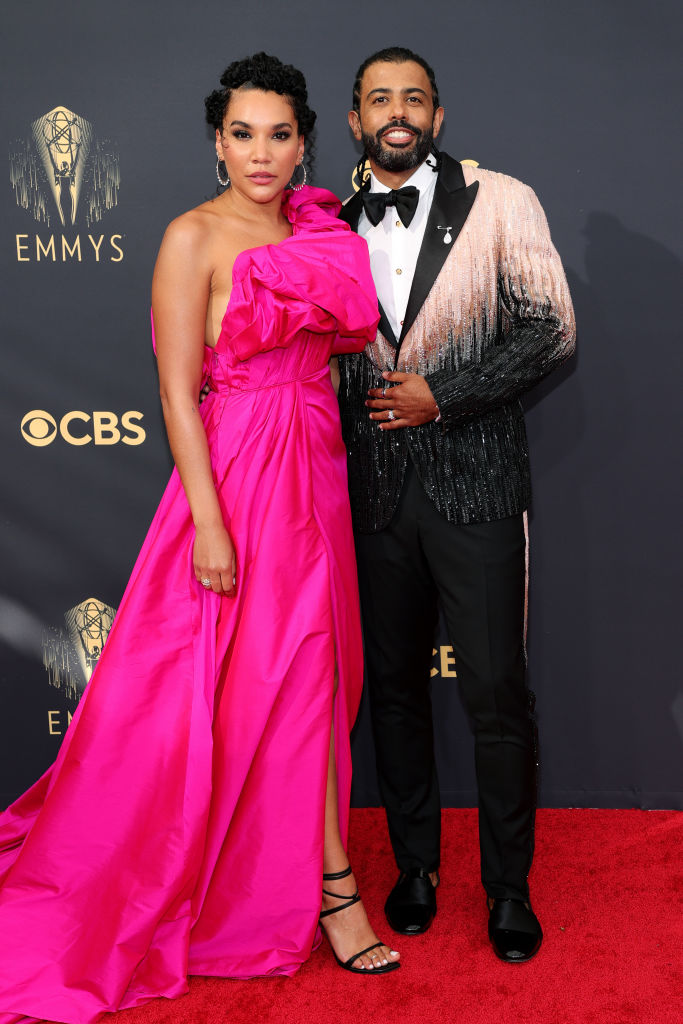 All the Lewks & Hot Mess from the 2021 Emmy Red Carpet: Emmy Raver-Lampman and Daveed Diggs