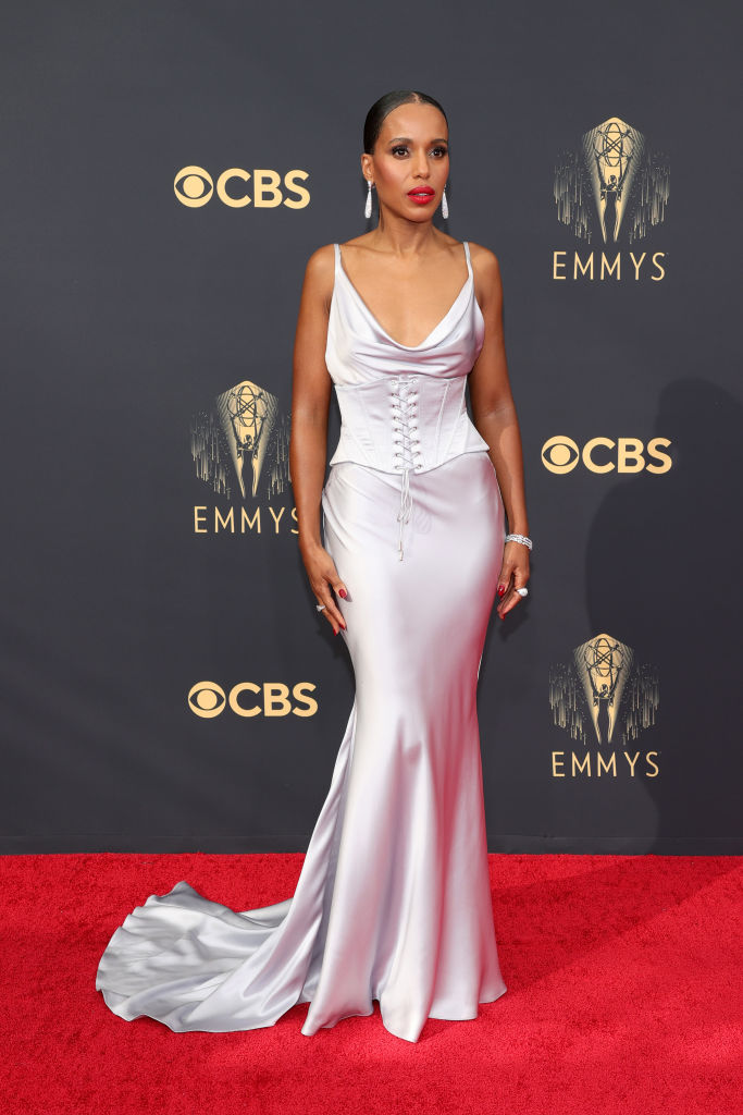 All the Lewks & Hot Mess from the 2021 Emmy Red Carpet: Kerry Washington