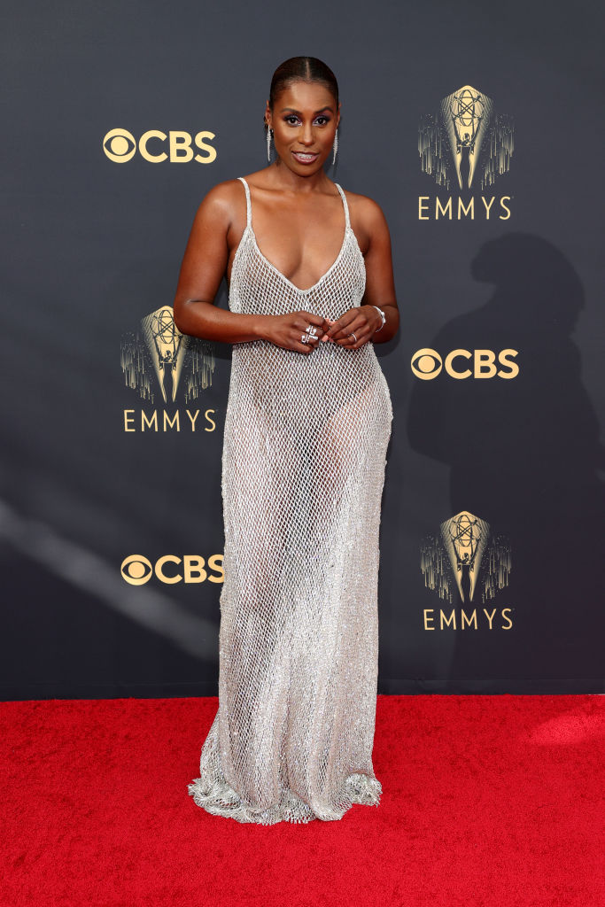 All the Lewks & Hot Mess from the 2021 Emmy Red Carpet: Issa Rae