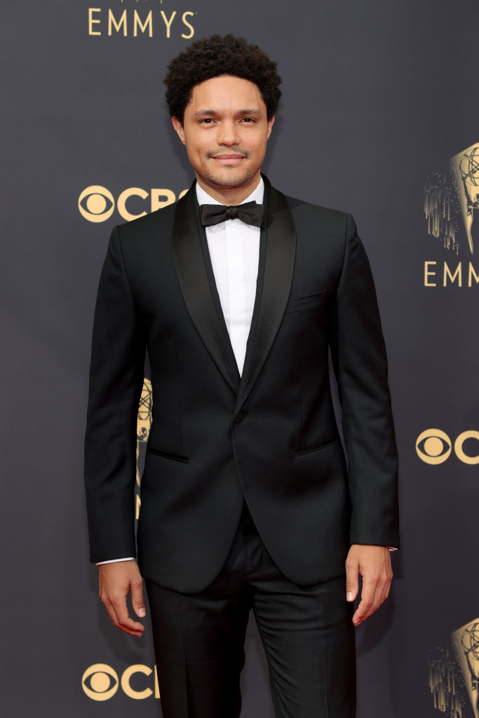 All the Lewks & Hot Mess from the 2021 Emmy Red Carpet: Trevor Noah