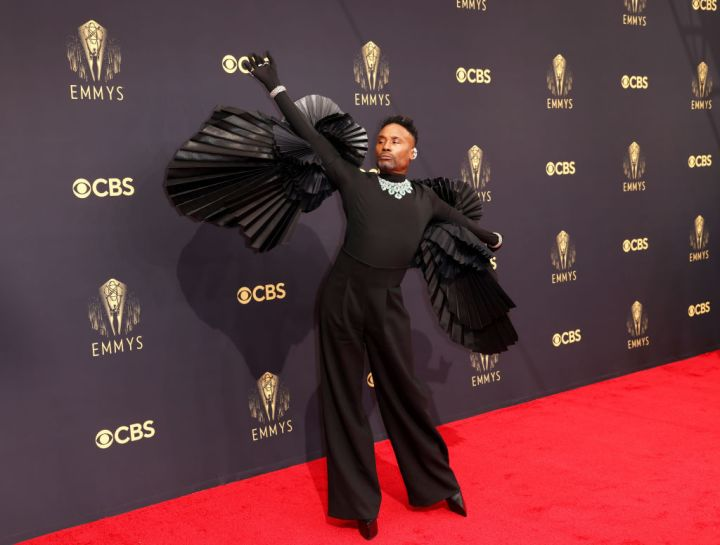 All the Lewks & Hot Mess from the 2021 Emmy Red Carpet: Billy Porter