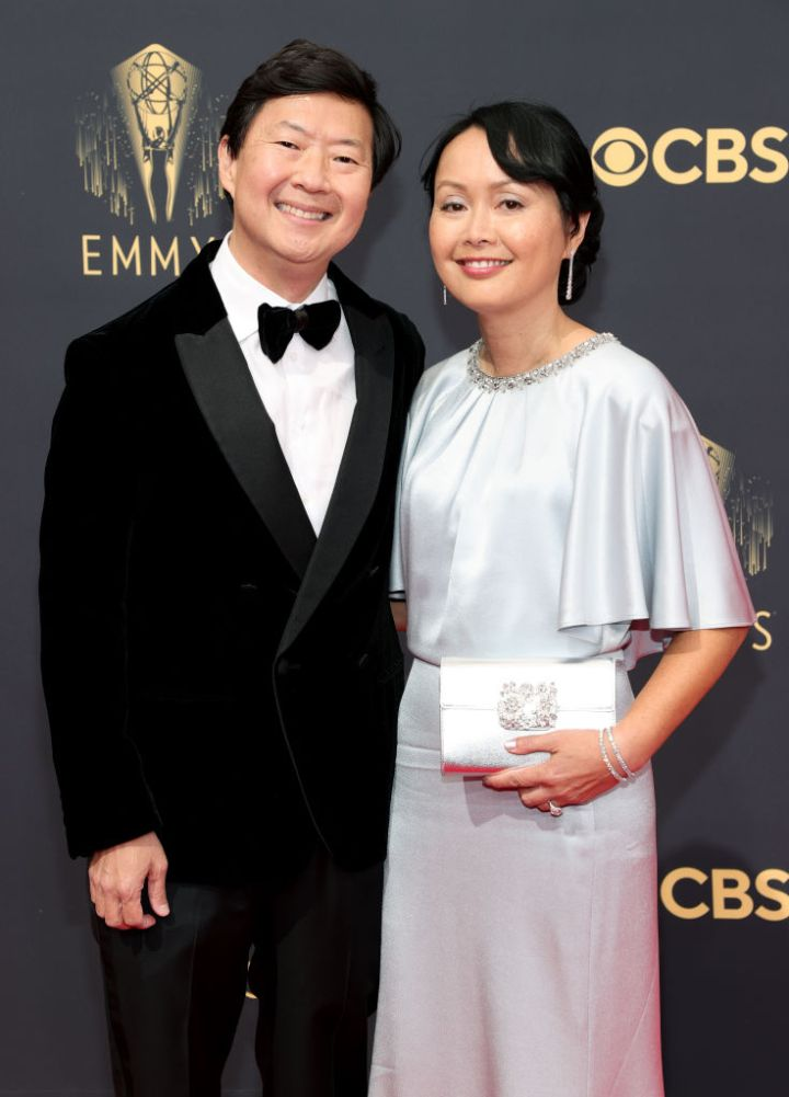 All the Lewks & Hot Mess from the 2021 Emmy Red Carpet: Ken Jeong and Tran Jeong